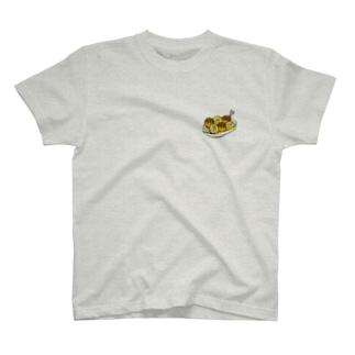 たこ焼き絵文字 T-shirts