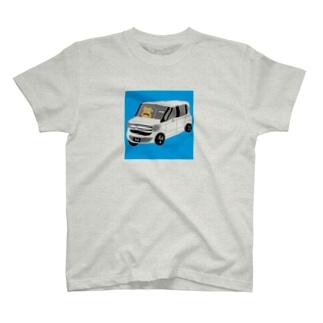 交通安全猫 T-shirts