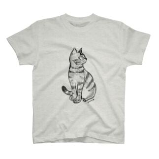 なぎまる・座る T-shirts