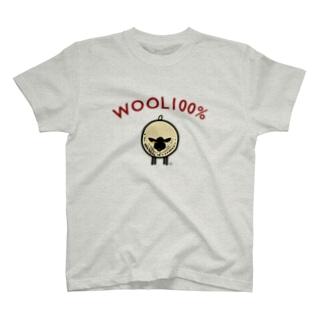 WOOL 100% T-shirts