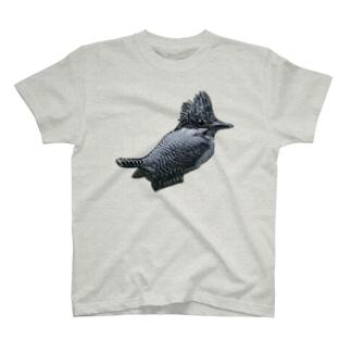 ヤマセミノタソガレ T-shirts
