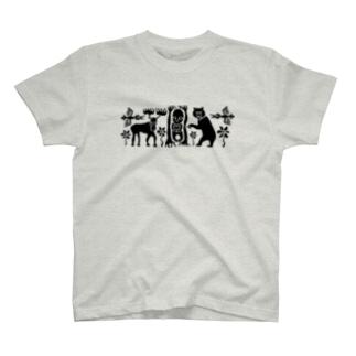 森と人 T-shirts