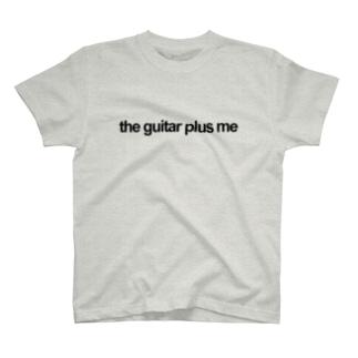 the guitar plus me T-shirts