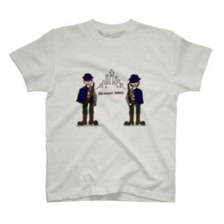 二人の兵士 (カラー) T-shirts