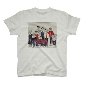 あふれでるレトロ T-shirts