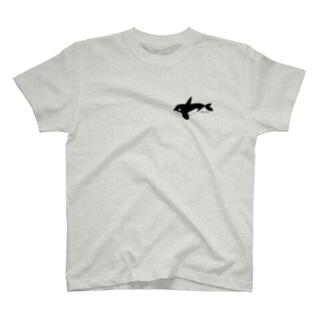 あいらぶシャチ T-shirts