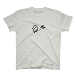サッカー選手!丸さん T-shirts