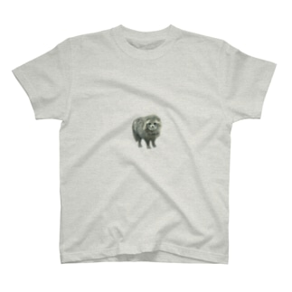 しみずゆま のやまのたぬき T-shirts