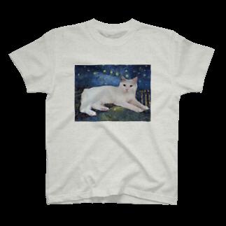 tinamagicalのshiro T-shirts