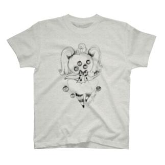 かぼちゃちゃんは興味津々A T-shirts