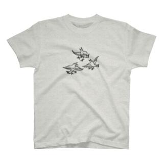 踊るサンバカラス T-shirts