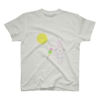 十五夜うさぎ T-shirts