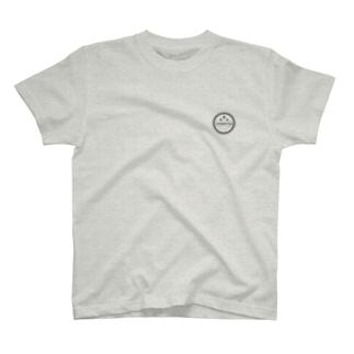 ちゃんピヨんロゴ(ブラック) T-shirts