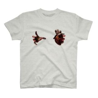 心臓掴まれてますよ?fromハロウィン T-shirts