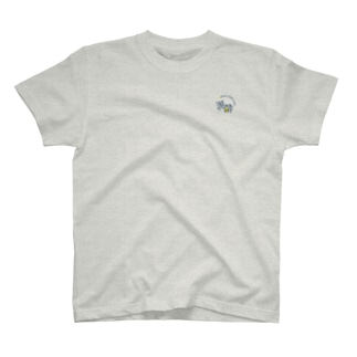 ロゴ_紺文字_Tシャツ T-shirts