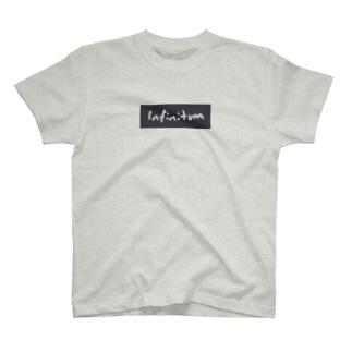 Infinitum Box Logo T T-shirts