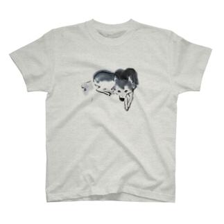 シバイヌsumi-shiba T-shirts