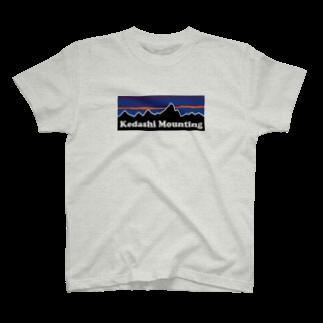 ツイッターインベストメントアパレル事業部のKedashi mounting T-shirts