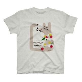 メリクリ!ご意見番いたちくん T-shirts