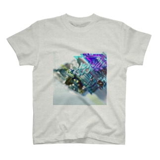 Bi+glitch T-shirts