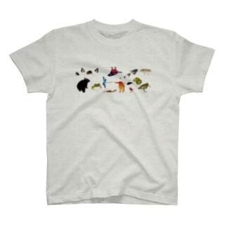 奄美のいきものたち T-shirts