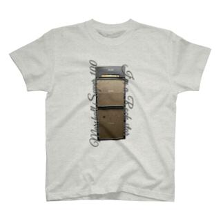 slow.のMarshall Super100 (太字) T-shirts