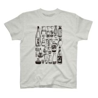 日本酒が好きな人に着て欲しい T-shirts