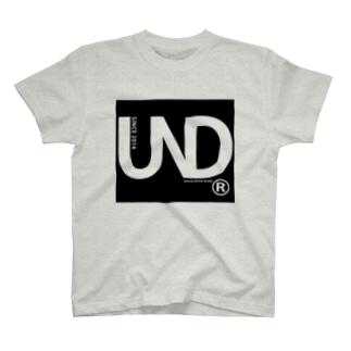 【UNDER PAR】BOX LOGO Tee T-shirts