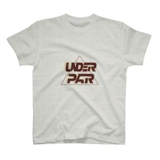 【UNDER PAR】RETRO BIGLOGO TEE T-shirts
