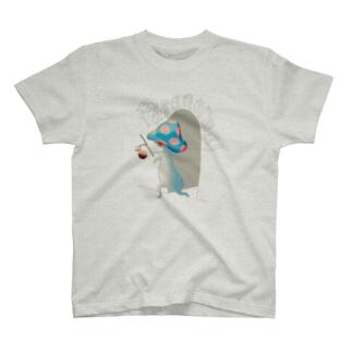 Paranormal Mushroom T-shirts