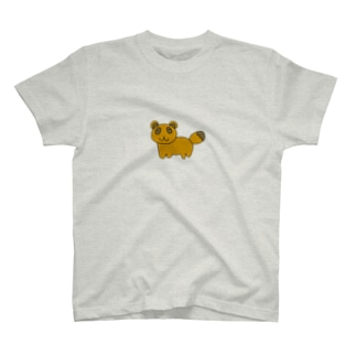 いいタヌキわるいタヌキTシャツ T-shirts
