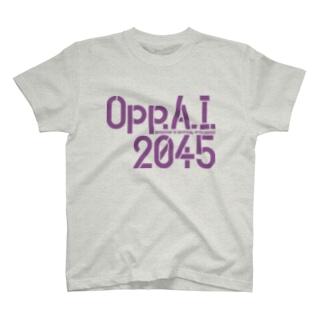 Opp.A.I. 2045 T-shirts
