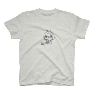 クレイジー闇うさぎ(証拠隠滅-青線-) T-shirts