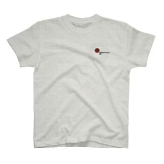 無い家紋-そうめん- T-shirts
