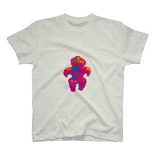 土偶坊や コーフンピンク T-shirts