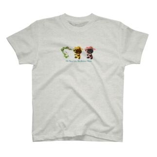 チューブ三銃士 T-shirts