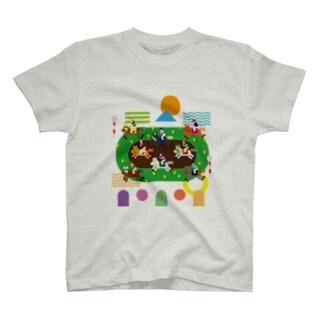 KEIBA LIFE!!!!(文字なし) T-shirts