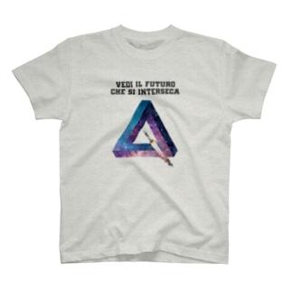 VEDI IL FUTURO CHE SI INTERSECA T-shirts
