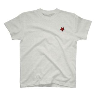 【色選択可!】ロゴ&スターTシャツ T-shirts
