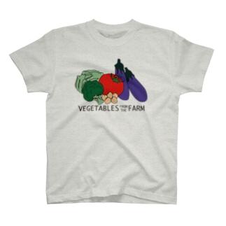 農家さん T-shirts