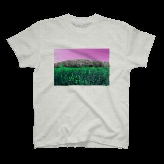 MomenTees モーメンティーズのflowers04-unique3 T-shirts