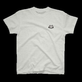 やなり🦠のドットの白猫 T-shirts