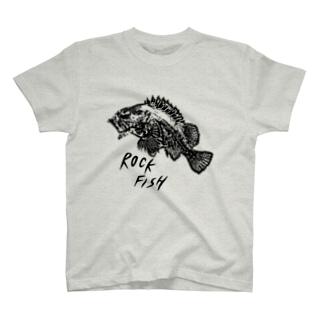ロックフィッシュTシャツ T-shirts