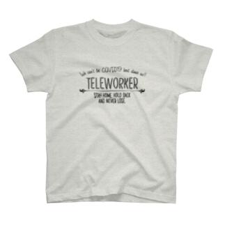 テレワーカー T-shirts