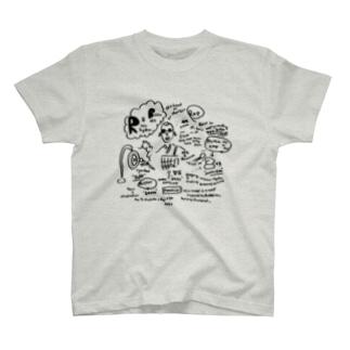 リズム&坊主 T-shirts