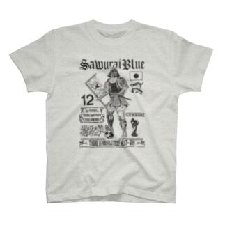 SAMURAIBLUE Tシャツ T-Shirt