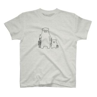 二人でさかなつり T-shirts