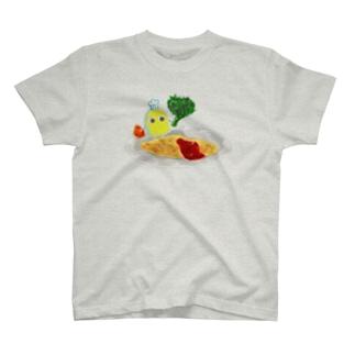 今日はオムレツです T-shirts