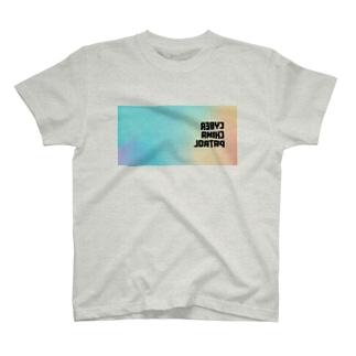 電脳チャイナパトロール・鏡 T-shirts