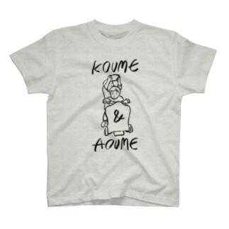 KOUME&AOUME_TATE T-shirts